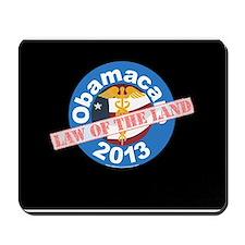 Obamacare Law Mousepad Black
