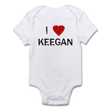 I Heart KEEGAN (Vintage) Infant Bodysuit