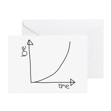 Love Graph Greeting Cards (Pk of 10)