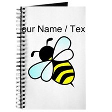 Custom Bumble Bee Journal