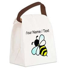 Custom Bumble Bee Canvas Lunch Bag