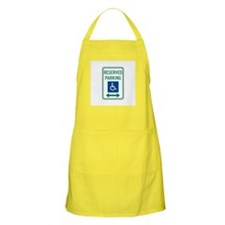 Reserved Parking Handicapped - USA BBQ Apron