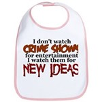 Crime Shows Bib