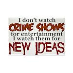 Crime Shows Rectangle Magnet