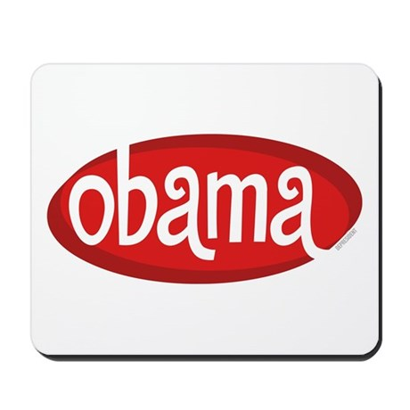 Obama Retro Mousepad