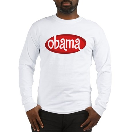 Obama Retro Long Sleeve T-Shirt