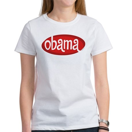 Obama Retro Womens T-Shirt