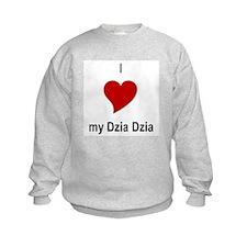 I Love My Dzia Dzia Sweatshirt