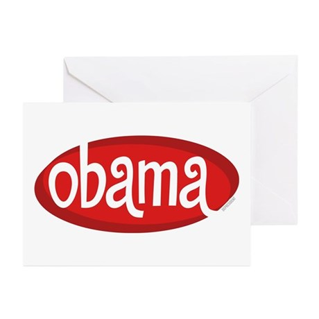 Obama Retro Greeting Cards (Pk of 10)