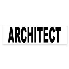 Architect Bumper Bumper Sticker