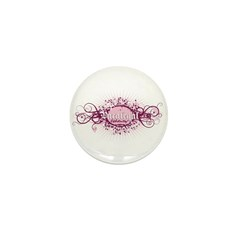 Pink Cool Mini Button (100 pack)
