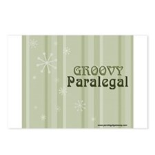Groovy Paralegal Postcards (Package of 8)