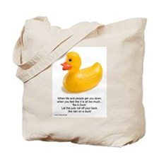 Be A Duck! Tote Bag
