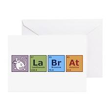 Periodic Lab Rat Greeting Cards (Pk of 10)