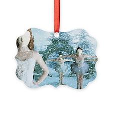 The Snow Ballet Picture Ornament