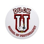 What the Duck University Ornament (Round)