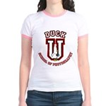 What the Duck University Jr. Ringer T-Shirt