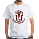 What the Duck University White T-Shirt