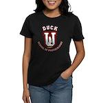 What the Duck University Women's Dark T-Shirt