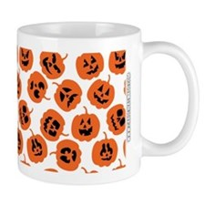 Halloween Pumpkin Pattern Mug