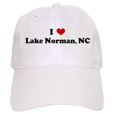 I Love Lake Norman, NC Baseball Cap