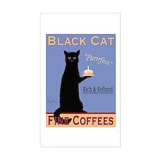 Black Cat Coffee Decal