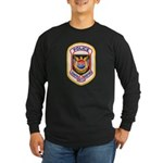 Tampa Airport Police Long Sleeve Dark T-Shirt
