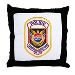 Tampa Airport Police Throw Pillow