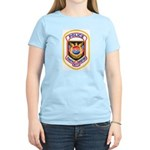 Tampa Airport Police Women's Pink T-Shirt