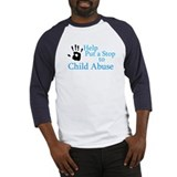 Cute Child abuse prevention Baseball Jersey