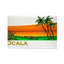 Ocala, Florida Rectangle Magnet