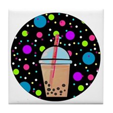 Bubble Tea Tile Coaster