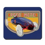 Speedometer Coaster Car Mousepad