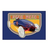 Speedometer Coaster Car Postcards (Package of 8)