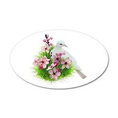 Spring Dove Wall Sticker