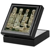 White Island Figures Keepsake Box