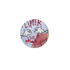 Flipper Live at the Fillmore Album Cov Mini Button