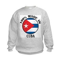Made In Cuba Kids Sweatshirt