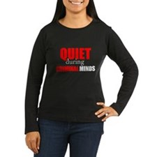 Quiet During Criminal Minds Long Sleeve T-Shirt
