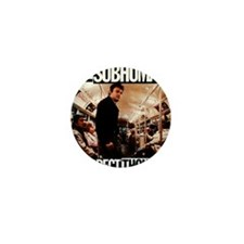 The SubHumans - Incorrect Thoughts   A Mini Button