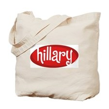 Retro Hillary Tote Bag