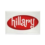 Retro Hillary Rectangle Magnet (100 pack)