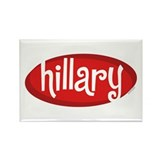 Retro Hillary Rectangle Magnet (10 pack)