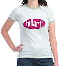 Retro Hillary Pink T