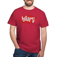 Retro Hillary Cardinal T-Shirt