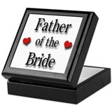 Father of the Bride #2 Keepsake Box