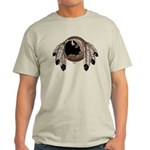 Native Art Light T-Shirt Cool Wildlife Artwork