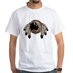 Native Art White T-Shirt First Nations Wildlife
