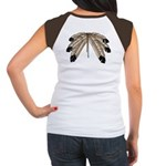 Native Art Women's Cap Sleeve T-Shirt Artwork