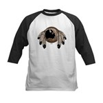 Native Art Kids Baseball Jersey First Nations Art